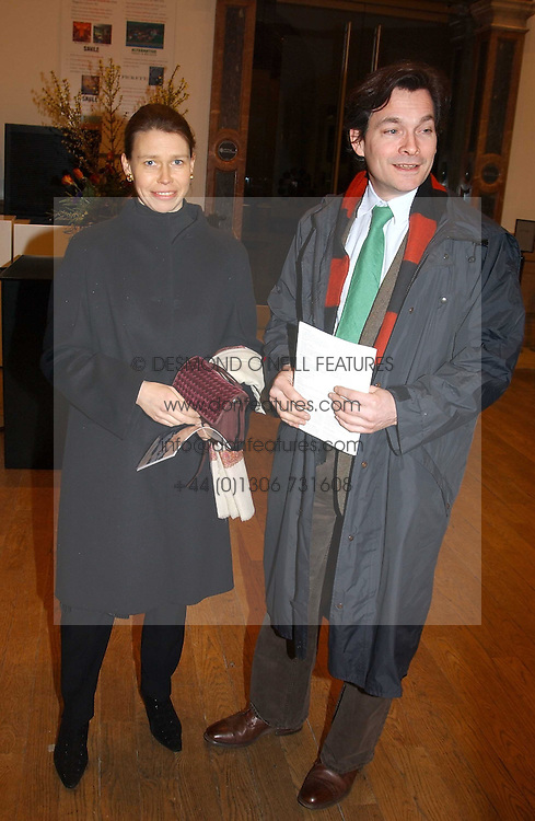 LADY SARAH CHATTO daughter of the late Princess Margaret and her husband MR DANIEL CHATTO at a private view of the new exhibition 'Matisse, his Art and his Textiles' at the Royal Academy of Art, Burlington House, Piccadilly, London on 1st March 2005.<br />