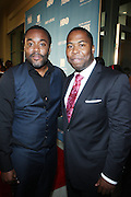 26 June 2010-Miami Beach, Fla- l to r: Lee Daniels and Chauncy Hamlett at The 2010 ABFF Honors Awards Ceremony held at The New World Symphony Lincoln Theater on June 26, 2010 in Miami Beach, Florida. Terrence Jennings/Sipa