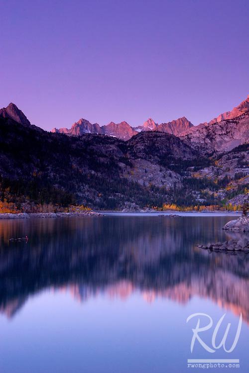 Lake Sabrina Sunrise, Inyo National Forest, California