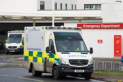 External view of Accident and Emergency Department at Edinburgh Royal Infirmary , Scotland, UK