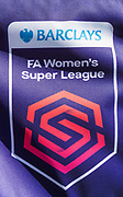 General view of signage at The People's Pension Stadium ahead of the FA Women's Super League match between Brighton and Hove Albion Women and Chelsea at The People's Pension Stadium, Crawley, England on 15 September 2019.