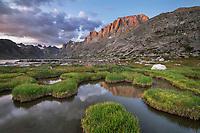Titcomb Basin, Bridger Wilderness, Wind River Range Wyoming