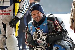 13.03.2016, Assen, BEL, FIM Eisspeedway Gladiators, Assen, im Bild Guenther Bauer (GER) // during the Astana Expo FIM Ice Speedway Gladiators World Championship in Assen, Belgium on 2016/03/13. EXPA Pictures © 2016, PhotoCredit: EXPA/ Eibner-Pressefoto/ Stiefel<br /> <br /> *****ATTENTION - OUT of GER*****