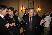 Elmore Leonard and his wife Christine. 2006 Cartier CWA Diamond Dagger Awards,  The Savoy, London. 10 May 2006.  Elmore Leonard receives Crime Writers' Association award recognising an outstanding contribution to the genre. ONE TIME USE ONLY - DO NOT ARCHIVE  © Copyright Photograph by Dafydd Jones 66 Stockwell Park Rd. London SW9 0DA Tel 020 7733 0108 www.dafjones.com