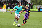 Forest Green Rovers Paul Digby(20) runs forward during the EFL Sky Bet League 2 match between Forest Green Rovers and Port Vale at the New Lawn, Forest Green, United Kingdom on 8 September 2018.