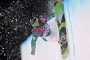 Australia's Torah Bright competes in the Ladies Snowboard Slopestyle final during the XXII Olympic Winter Games at at Extreme Park in Sochi, Russia.