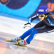 March 15, 2013 - Omaha, NE - Skater competes in the Short Track Age Group Nationals held at the Moylan Arena.
