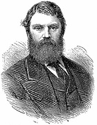 Francis Edmund Anstie (1833-1874) English physician. Died as a result of an infection contracted when he scratched himself while carrying out a postmortem. Woodcut, London 1874.