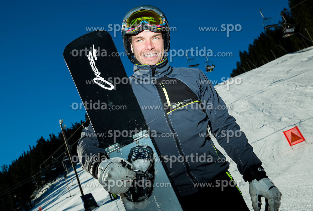 Jure Hafner during training of Snowboarding Team Slovenia prior to the 2015 FIS Freestyle Ski and Snowboard World Championships in Kreischberg (AUT) on January 13, 2015 in Rogla, Slovenia. Photo by Vid Ponikvar / Sportida