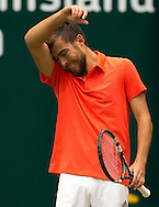 Jerzy Janowicz (POL)<br /> <br /> Tennis - Gerry Weber Open - ATP 500 -  Gerry Weber Stadion - Halle / Westf. - Nordrhein Westfalen - Germany  - 19 June 2015. <br /> &copy; Juergen Hasenkopf