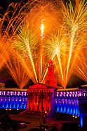 USA-Colorado-Denver-Civic Center Fireworks