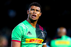 Nathan Earle of Harlequins - Mandatory by-line: Robbie Stephenson/JMP - 07/09/2018 - RUGBY - Franklin's Gardens - Northampton, England - Northampton Saints v Harlequins - Gallagher Premiership