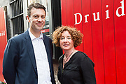 18/07/2017 Repro Free:   Brian Duffy and Michelle Anne Kelly  at the opening night of Crestfall by Mark Rowe directed by Annabelle Comyn at the Mick Lally Theatre, Druid Lane Galway  during the 40th Galway International Arts Festival. Photo:Andrew Downes, xposure .