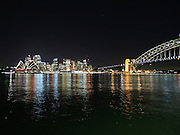 RLight reflects off the beauty of Sydney Harbour