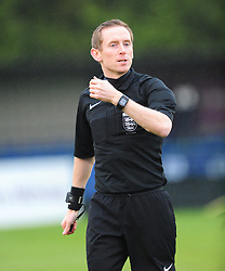 PAUL JOHNSON REFEREE, AFC Dunstable v Egham Town Evo Stik League South East, Creasey Park Saturday 18th November 2017. Score 6-1.<br /> Photo:Mike Capps