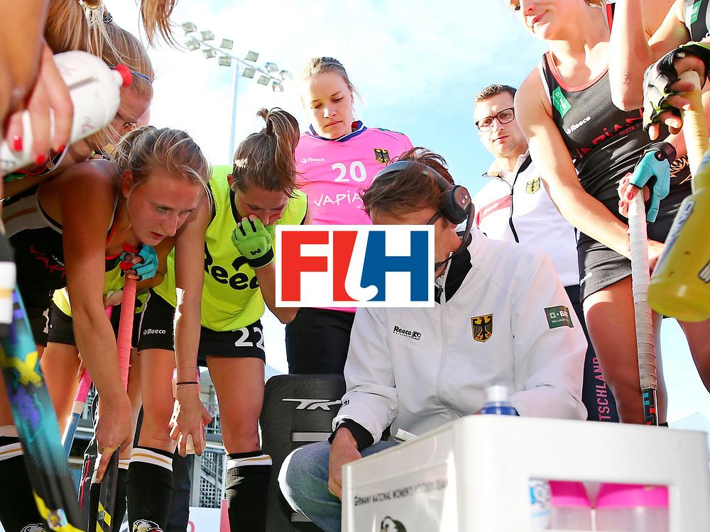 New Zealand, Auckland - 19/11/17  <br /> Sentinel Homes Women&rsquo;s Hockey World League Final<br /> Harbour Hockey Stadium<br /> Copyrigth: Worldsportpics, Rodrigo Jaramillo<br /> Match ID: 10297 - GER vs CHI<br /> Photo: