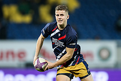 Billy Searle of Bristol Rugby in action during the warm up - Rogan Thomson/JMP - 16/12/2016 - RUGBY UNION - Stade du Hameau - Pau, France - Pau v Bristol Rugby - EPCR Challenge Cup.