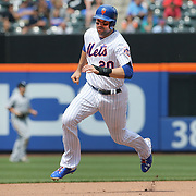 NEW YORK, NEW YORK - June 01:  Neil Walker #20 of the New York Mets running to third base during the Chicago White Sox  Vs New York Mets regular season MLB game at Citi Field on June 01, 2016 in New York City. (Photo by Tim Clayton/Corbis via Getty Images)