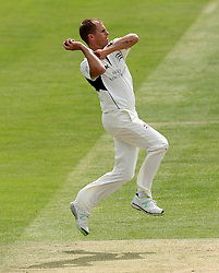Middlesex's Neil Dexter bowls - Photo mandatory by-line: Robbie Stephenson/JMP - Mobile: 07966 386802 - 04/05/2015 - SPORT - Football - London - Lords  - Middlesex CCC v Durham CCC - County Championship Division One