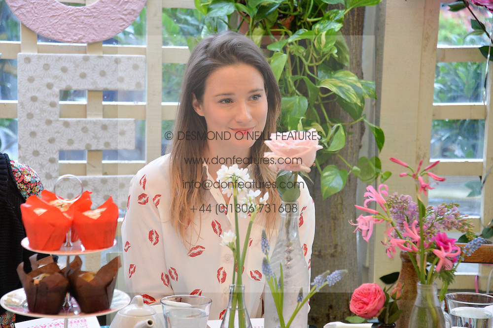 KELLY EASTWOOD at a ladies Valentine's Breakfast to launch the new healthy food menu at royal favourite restaurant Bumpkin, 119 Sydney Street, London on 14th February 2014.