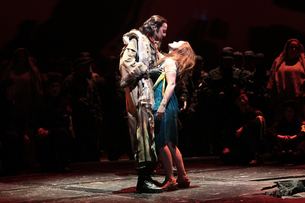 Seattle Opera's production of Giuseppe Verdi's Attila, January 2011.