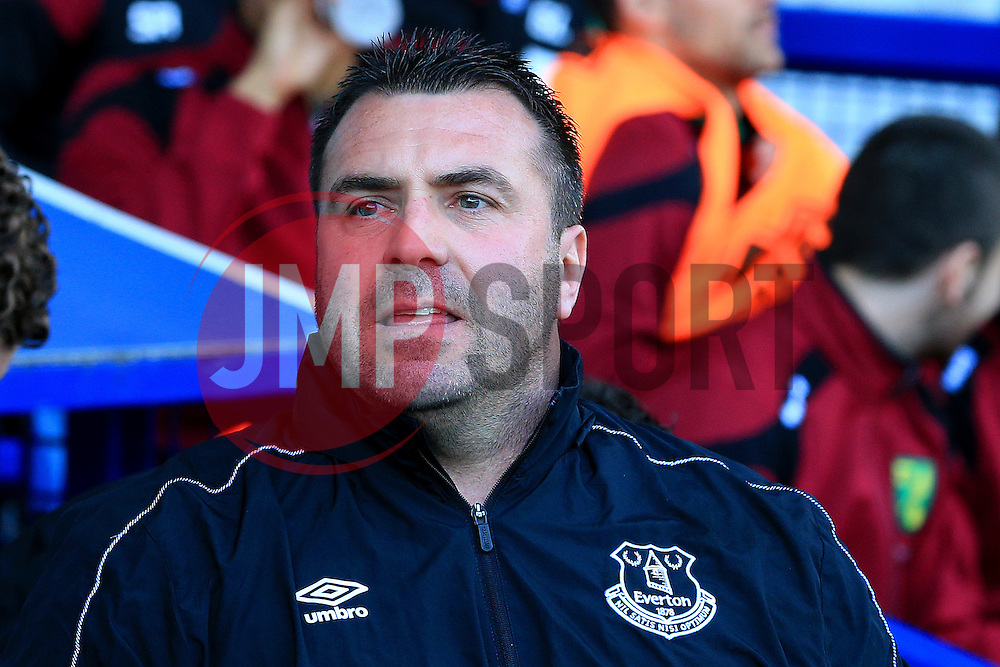 Everton Interim Manager David Unsworth - Mandatory byline: Matt McNulty/JMP - 15/05/2016 - FOOTBALL - Goodison Park - Liverpool, England - Everton v Norwich City - Barclays Premier League