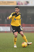 Robert Harris on the ball during the Sky Bet League 1 match between Crawley Town and Sheffield Utd at Broadfield Stadium, Crawley, England on 28 February 2015. Photo by David Charbit.
