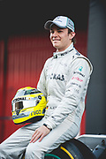 February 21, 2012: Formula One Testing, Circuit de Catalunya, Barcelona, Spain. Nico Rosberg, Mercedes W03