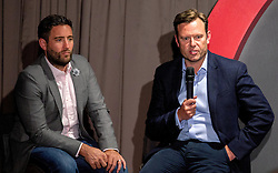 Bristol City head coach Lee Johnson and Bristol Sport Chief Operating Officer Mark Ashton takes questions from the floor during the Lansdown Club event - Mandatory by-line: Robbie Stephenson/JMP - 06/09/2016 - GENERAL SPORT - Ashton Gate - Bristol, England - Lansdown Club -