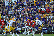 Ole Miss' Randall Mackey (1) vs. LSU at Tiger Stadium in Baton Rouge, La. on Saturday, November 17, 2012.....