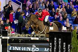 Schwizer Pius, SUI, Cortney Cox<br /> Jumping Mechelen 2018<br /> © Hippo Foto - Sharon Vandeput<br /> 30/12/18