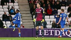 Ivan Toney of Peterborough United celebrates his goal - Mandatory by-line: Joe Dent/JMP - 02/10/2018 - FOOTBALL - Stadium of Light - Sunderland, England - Sunderland v Peterborough United - Sky Bet League One