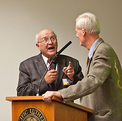 50-year reunion for the class of 1964 during PLU Homecoming on Saturday, Oct. 4, 2014. (Photo/John Froschauer)