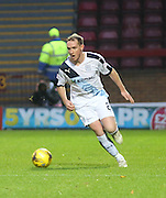 Dundee&rsquo;s Gary Irvine - Motherwell v Dundee - Ladbrokes Premiership at Fir Park<br /> <br /> <br />  - &copy; David Young - www.davidyoungphoto.co.uk - email: davidyoungphoto@gmail.com