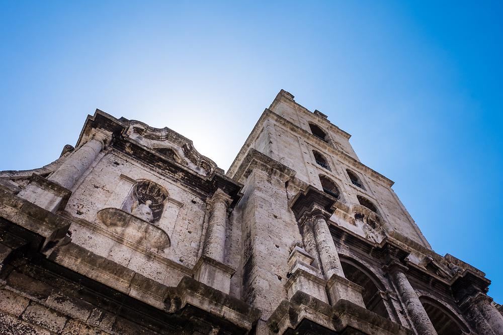HAVANA, CUBA - CIRCA MAY 2016:  Convento San Francisco de Asis in Havana.