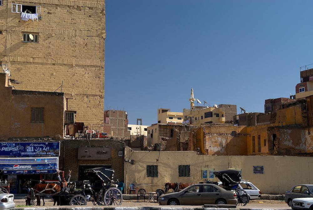 Egypt, Aswan. December/26/2008...On the corniche..