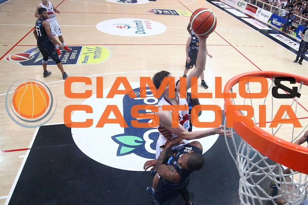 Benjamin Ortner<br /> Dolomiti Energia Aquila Basket Trento - Umana Reyer Venezia<br /> Lega Basket Serie A 2016/2017<br /> Playoff, finale gara 4<br /> Trento, 16/06/2017<br /> Foto M.Ceretti / Ciamillo-Castoria