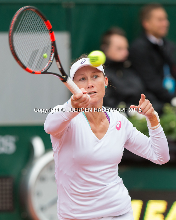 Samantha Stosur (AUS)<br /> <br /> Tennis - French Open 2016 - Grand Slam ITF / ATP / WTA -  Roland Garros - Paris -  - France  - 3 June 2016.