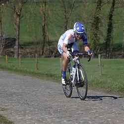 03-04-2016: Wielrennen: Ronde van Vlaanderen vrouwen: Oudenaarde  <br />OUDENAARDE (BEL) cycling  <br />The sixth race in the UCI Womensworldtour is the ronde van Vlaanderen. A race over the famous Flemish climbs. An attack on the Haaghoek Iris Slappendel