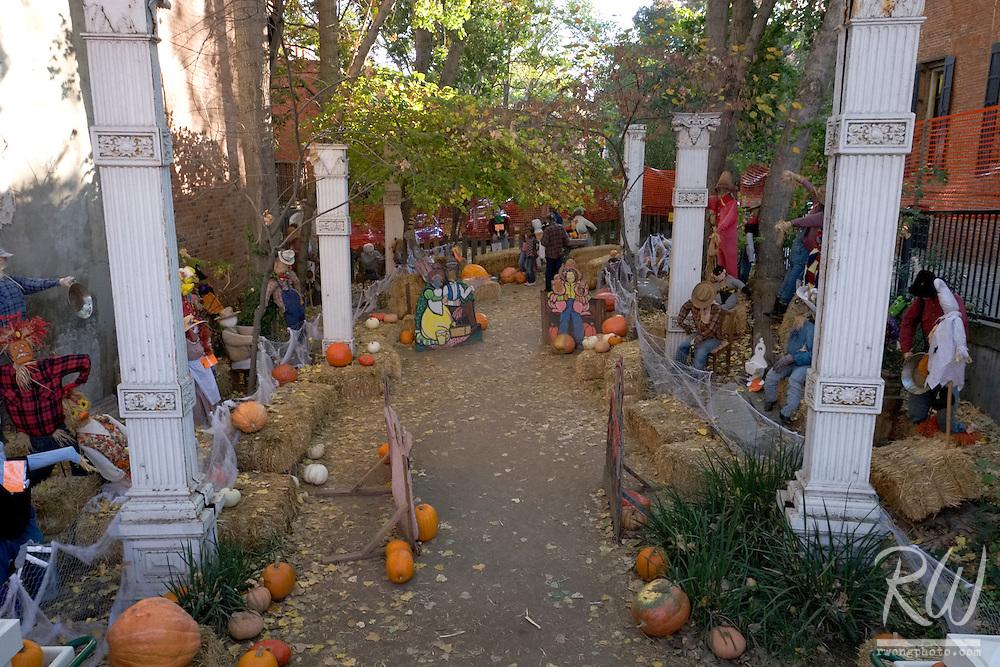 Scarecrow Park, Old Sacramento, California