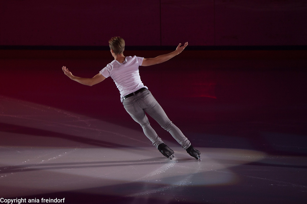 International Ice Skating Gala, Courchevel, France, 20 July 2017, Tim Huber, Member of National Team, Swiss,