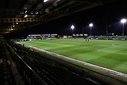 The New Lawn, home of Forest Green Rovers during the EFL Sky Bet League 2 match between Forest Green Rovers and Mansfield Town at the New Lawn, Forest Green, United Kingdom on 29 January 2019.
