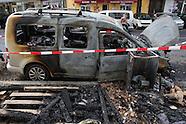 car arson, Berlin 27.07.16
