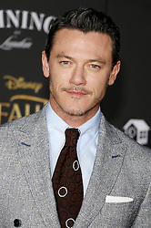 Luke Evans at the Los Angeles premiere of 'Beauty And The Beast' held at the El Capitan Theatre in Hollywood, USA on March 2, 2017.