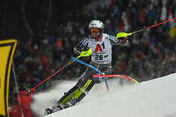 "29.01.2019, Planai, Schladming, AUT, FIS Weltcup Ski Alpin, Slalom, Herren, 1. Lauf, im Bild Jonathan Nordbotten (NOR) // Jonathan Nordbotten of Norway in action during his 1st run of men's Slalom ""the Nightrace"" of FIS ski alpine world cup at the Planai in Schladming, Austria on 2019/01/29. EXPA Pictures © 2019, PhotoCredit: EXPA/ Erich Spiess"