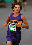 Oct 20, 2006; Walnut, CA, USA; Jake Jeanson of Woodcrest Christian places fifth in the Division V sweepstakes race in 16:08 over the 2.91-mile course in the 59th Mt. San Antonio College Cross Country Invitational.