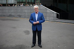 Max Clifford trial verdict update. Publicist Max Clifford arrives at court after lunch break. Southwark Crown Court, London, United Kingdom. Wednesday, 23rd April 2014. Picture by Daniel Leal-Olivas / i-Images