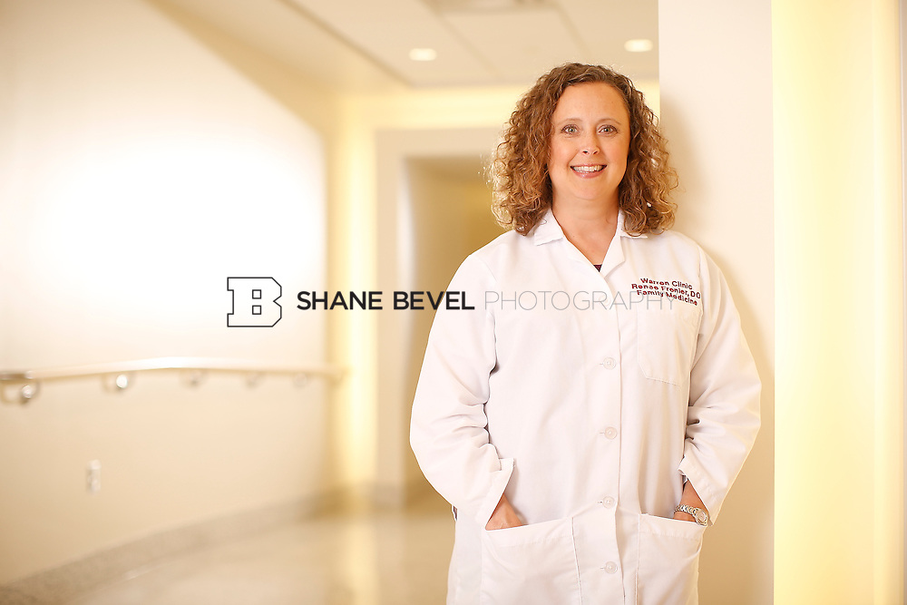 5/28/15 4:18:46 PM -- Dr. Renee Frenier of Saint Francis Health System poses for a portrait for the 2015 Advertising Campaign. <br /> <br /> Photo by Shane Bevel