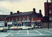 Old Dublin Amature Photos February 1984 WITH, Sutton Signal Box, The Crescent, No 18 Bram Stoker House, Georges Avenu, Crowleys, McKennas, Gallaghers Shop Fairview, McGraths Pub, Drumcondra, Broadstone, McGovern's Pub, BOSTON BAKERY, THE CASKET, FORD ESCORT, CAR, VAN ESTATE,