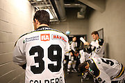 Henrik Solberg of Stavanger Oilers before the game v Lillehammer at DNB Arena, Stavanger , Norway on 22 September 2016. Photo by Andrew Halseid-Budd.